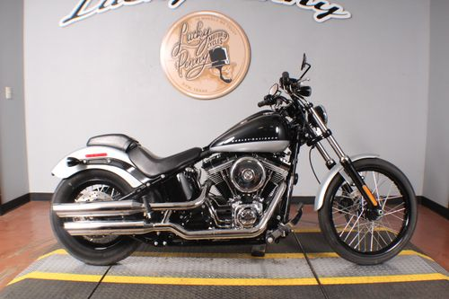 Pre-Owned 2013 Harley-Davidson Softail Blackline FXS