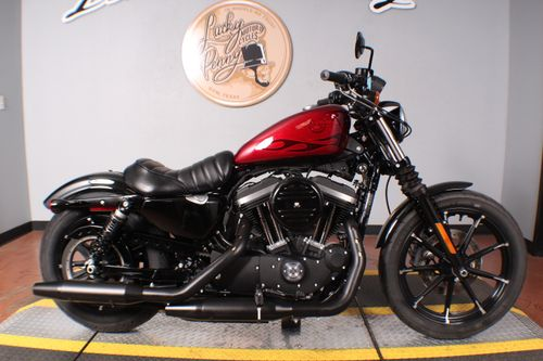 Pre-Owned 2017 Harley-Davidson Sportster Iron 883 - XL883N