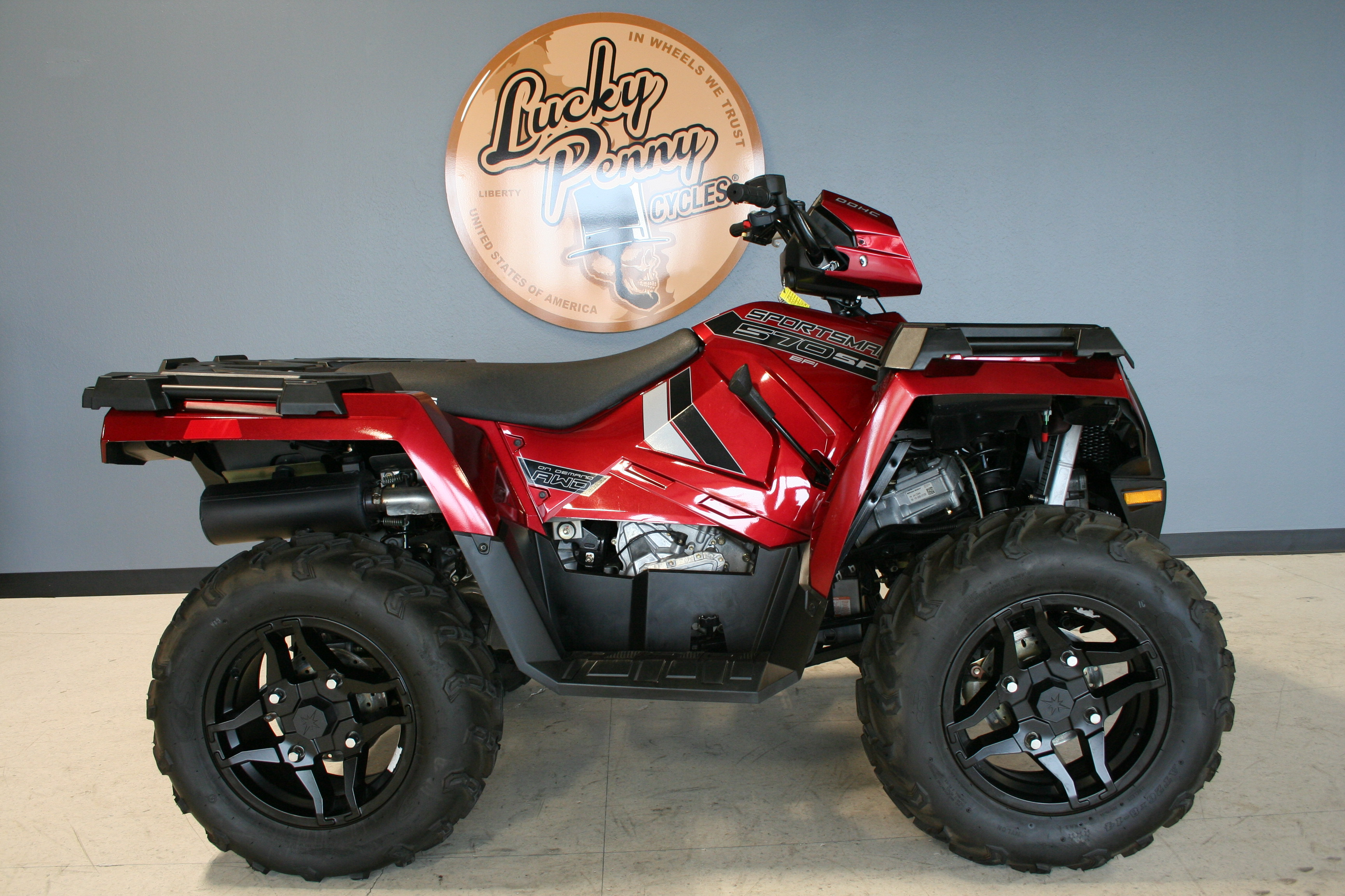 Pre-Owned 2017 Polaris Sportsman 570 SP Base