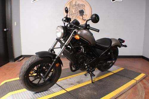 Pre-Owned 2017 Honda Rebel 300 CMX300 Cruiser